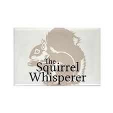 The Squirrel Whisperer Magnets