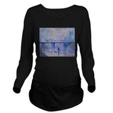 Unique Vintage london Long Sleeve Maternity T-Shirt