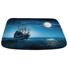 Pirate Ship Bathmat