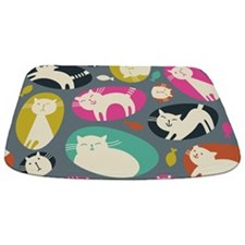 Cute Cats Bathmat