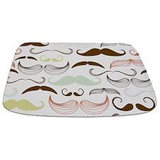 Mustache Pattern Bathmat