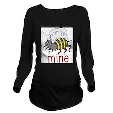 Be Mine Long Sleeve Maternity T-Shirt