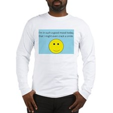 Old Man Quote Long Sleeve T-Shirt
