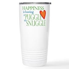Cute Puggles Travel Mug