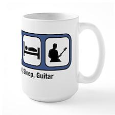 Eat, Sleep, Guitar Mugs