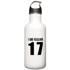 I am feeling 17 Water Bottle