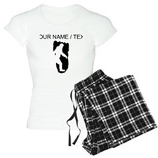 Custom Bigfoot Footprint Pajamas