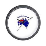 Melbourne, Australia Wall Clock