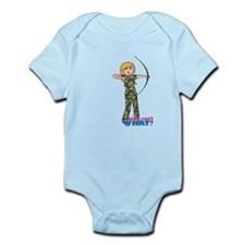 Archery Girl Camo Light/Blonde Infant Bodysuit