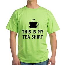 This Is My Tea Shirt T-Shirt
