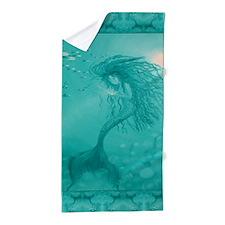 Aqua Mermaid Beach Towel