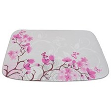 Cherry Flowers Bathmat