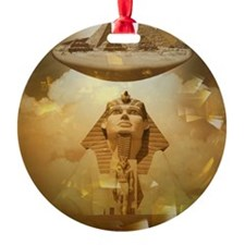 Egyptian Thinking Ornament