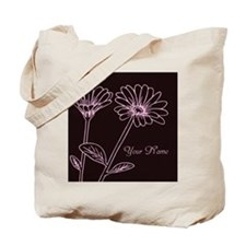 Daisy Personalized Name Tote Bag