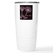 Daisy Personalized Name Travel Coffee Mug