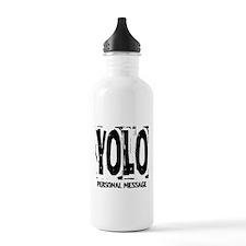 Personalized YOLO Water Bottle