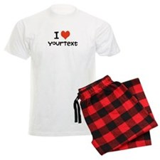 CUSTOMIZE I Heart Men's Pajamas