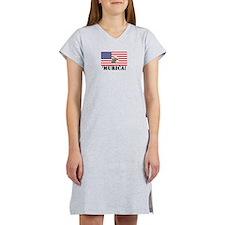Murica Eagle Women's Nightshirt