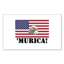 Murica Eagle Decal
