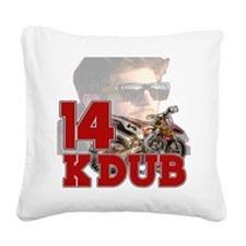 KDub14 Square Canvas Pillow