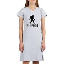 Bigfoot Women's Nightshirt
