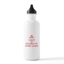 Keep calm by focusing on on Geyser Gazing Water Bo