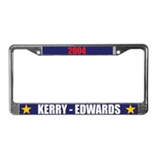 Kerry Edwards 04 License Plate Frame