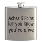 Aches Pains let you know youre alive Flask