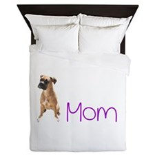 Cute Pet mom Queen Duvet