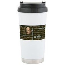 Cute Funny shakespeare Travel Mug