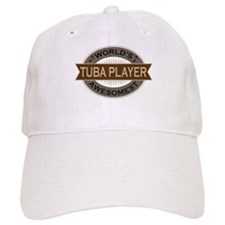 Awesome Tuba Player Cap