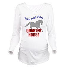 rwp-quarter-horse.tif Long Sleeve Maternity T-Shir