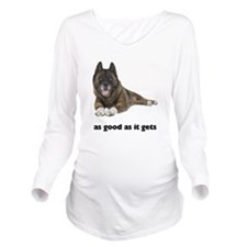 Good Akita Long Sleeve Maternity T-Shirt
