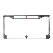 Cool Marxism License Plate Frame