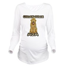 Goldendoodle Mom Long Sleeve Maternity T-Shirt
