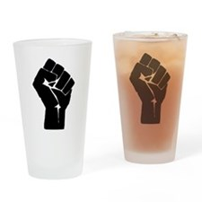 Solidarity Salute Drinking Glass
