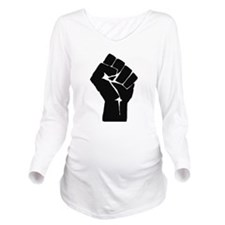 Solidarity Salute Long Sleeve Maternity T-Shirt
