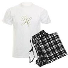 Personalize with Your Initial Pajamas