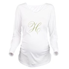 Personalize with Your Initial Long Sleeve Maternit