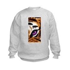 Tiger Purple Eye Sweatshirt