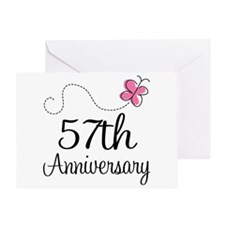 57th Wedding Anniversary Greeting Cards Card Ideas, Sayings, Designs ...