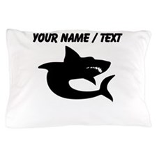 Custom Shark Silhouette Pillow Case