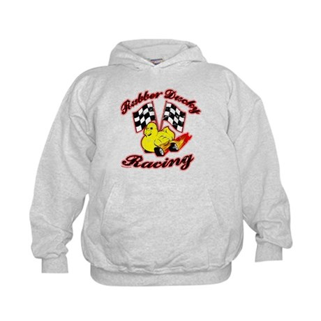 Rubber Ducky Racing Kids Hoodie