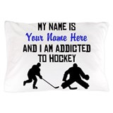 Hockey goalie personalized Pillow Cases