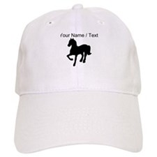 Custom Pony Silhouette Baseball Baseball Cap