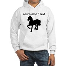 Custom Pony Silhouette Hoodie