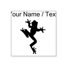 Custom Frog Silhouette Sticker