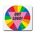 OUT LOUD! Mousepad