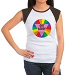 OUT LOUD! Women's Cap Sleeve T-Shirt