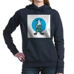 military cow in camo copy.jpg Hooded Sweatshirt